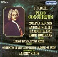 Bach, J.S.: Concertok 1, 2 és 3 zongorára - II. album