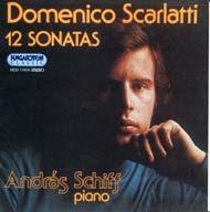 Scarlatti, Domenico: 12 szonáta