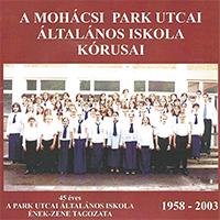 A Mohácsi Park Utcai Általános Iskola kórusai