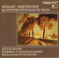 Mozart/Beethoven Quintettes pour Piano et Vents