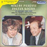 Perényi Miklós és Kocsis Zoltán hangversenyfelvételei (1989-1995)