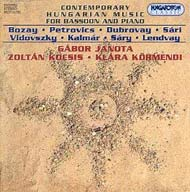 Kortárs magyar zene fagottra és zongorára