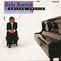 Bartók Béla: Works for Solo Piano, Vol.6