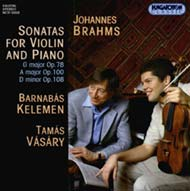 Brahms, Johannes: Szonáták hegedűre és zongorára