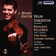 Haydn, Michael: Hegedűversenyek (Összes)