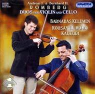 Romberg, Andreas - Romberg, Bernhard H.J.: Duók hegedűre és gordonkára