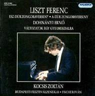 Liszt Ferenc: Esz-dúr és A-dúr zongoraverseny / Dohnányi: Változatok egy gyermekdalra