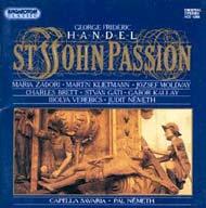 Händel, Georg Friedrich: János passió