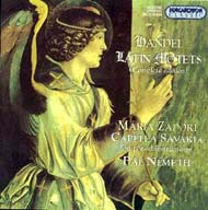 Händel, Georg Friedrich: Latin motetták