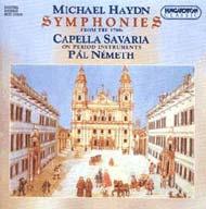 Haydn, Michael: Szimfóniák az 1780-as évekből