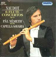 Naudot, Jacques-Christophe: Hat fuvolaverseny Op.11