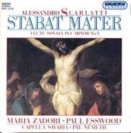Scarlatti, Alessandro: Stabat mater; c-moll fuvolaszonáta