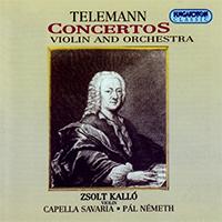 Telemann, Georg Philipp: Hegedűversenyek