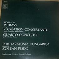 Petrassi, Goffredo: Recreation Concertante / Quatro Concerto