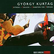 Kurtág, György: Játékok; Szálkák; Grabstein für Stephan