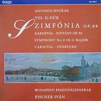 Dvorák: Karnevál-nyitány/VIII.szimfónia