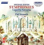 Haydn, Michael: Szimfóniák