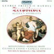 Händel, Georg Friedrich: Terpsicore  - előjáték az Il pastor fido című opera seriához; Alcina - zenekari részek (teljes); Ariodante - balettzene