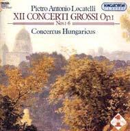 Locatelli, Pietro Antonio: 12 concerto grosso Op. 1. Nos. 1-6