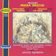 Mozart, Wolfgang Amadeus: Missa brevis
