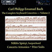 Bach, C.P.E.: The Complete Keyboard Concertos, Vol. 02
