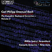 Bach, C.P.E.: The Complete Keyboard Concertos, Vol. 03