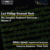 Bach, C.P.E.: The Complete Keyboard Concertos, Vol. 04