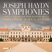 Joseph Haydn: Symphonies - Capella Savaria (on period instruments) conducted by Nicholas McGegan