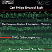Bach, C.P.E.: The Complete Keyboard Concertos, Vol. 06