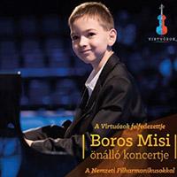 A Virtuózok felfedezettje: Boros Misi önálló koncertje a Nemzeti Filharmonikusokkal