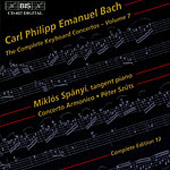 Bach, C.P.E.: The Complete Keyboard Concertos, Vol. 07