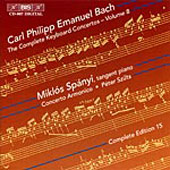 Bach, C.P.E.: The Complete Keyboard Concertos, Vol. 08