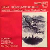 Liszt Ferenc: Mazeppa; Les Préludes; Tasso; I.Mefisztó-keringő
