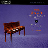 Bach, C.P.E.: The Solo Keyboard Music, Vol. 02