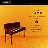 Bach, C.P.E.: The Solo Keyboard Music, Vol. 01