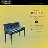 Bach, C.P.E.: The Solo Keyboard Music, Vol. 03