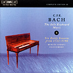 Bach, C.P.E.: The Solo Keyboard Music, Vol. 04