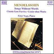 Mendelssohn-Bartholdy, Felix: Songs Without Words I.