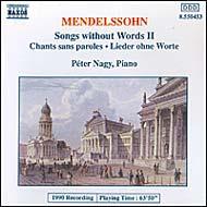 Mendelssohn-Bartholdy, Felix: Songs Without Words II.