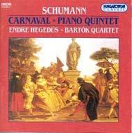 Schumann, Robert: Karnevál Op. 9; Esz-dúr zongoraötös Op. 44