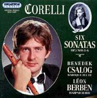 Corelli, Arcangelo: Szonáták Op. 5 Nos. 1-6