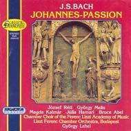 Bach, J.S.: János passió BWV 245