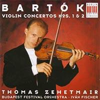 Bartók Béla: I. és II.hegedűverseny