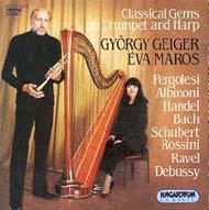 Geiger György/Maros Éva: Klasszikus gyöngyszemek trombitán és hárfán