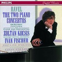 Ravel, Maurice: G-dúr és D-dúr zongoraverseny / Debussy: Fantázia zongorára és zenekarra