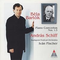 Bartók Béla: Zongoraversenyek