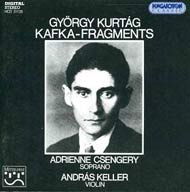 Kurtág György: Kafka-töredékek, Op. 24