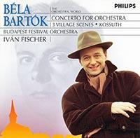 Bartók Béla: Kossuth-szimfónia; Falun; Concerto