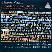 Veress Sándor: Zongoraverseny/Hommage á Paul Klee/Hat csárdás