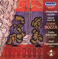 Bozza, Eugene: Nizzai rapszódia - klarinétművek